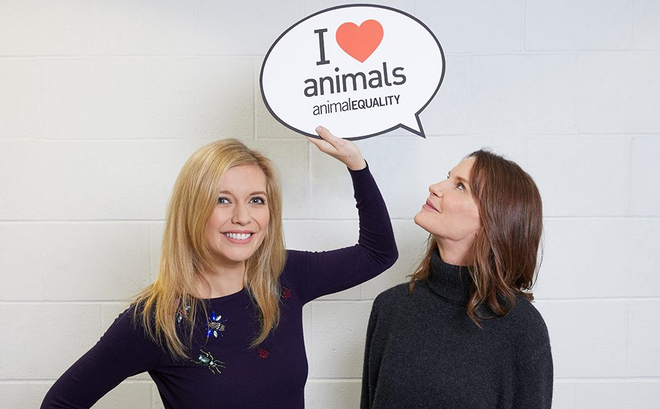 Rachel Riley and Susie Dent support a #FoieGrasFreeGB